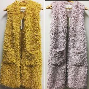 Jackets & Blazers - Faux Fur Vests